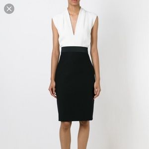 Lanvin Black and White Cocktail Dress!NEW WITH TAG